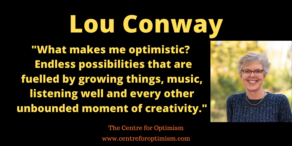 """""""What makes me #optimistic? #Endless #possibilities that are fuelled by #growing things, #music, #listening well and every other #unbounded moment of #creativity.""""  So @lou_conway12 @unesmartri @UniNewEngland told @victorperton  Join them in conversation https://t.co/rHUT0SPEOV https://t.co/QqbxOq7eV0"""