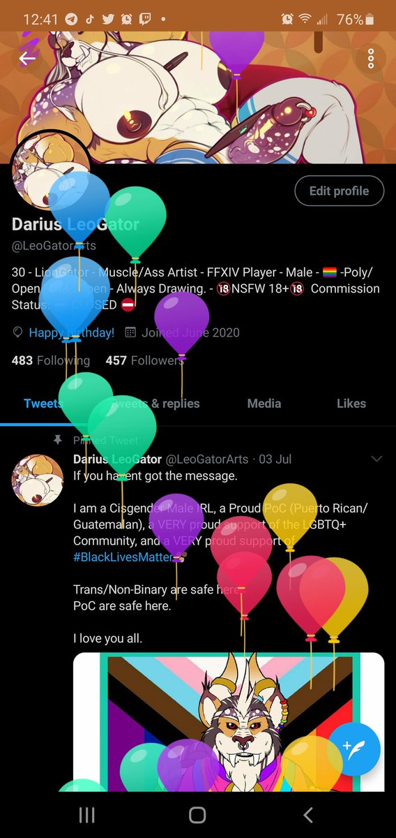 WOO BIRTHDAY TIME!