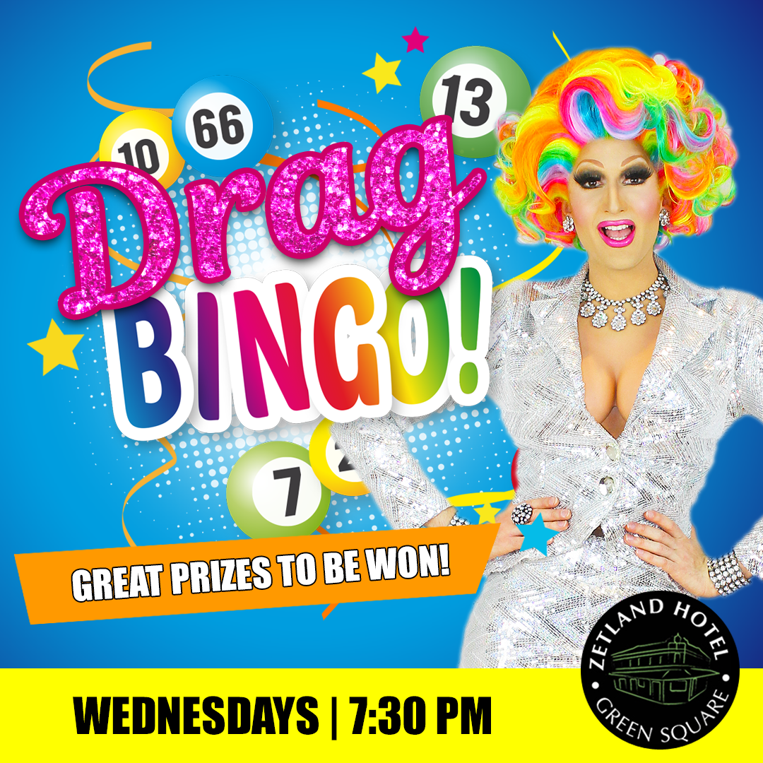 Join us for Drag Bingo at the Zetland Hotel Wednesday night hosted by Prada Clutch!⠀⠀ Balls drop 7:30 PM. Great prizes to be won! ⠀⠀   Bookings essential - email bookings@zetlandhotel.com.au ⠀⠀ #DragBingo #BingoSydney #SydneyDragQueenpic.twitter.com/8yBdnrDtJi