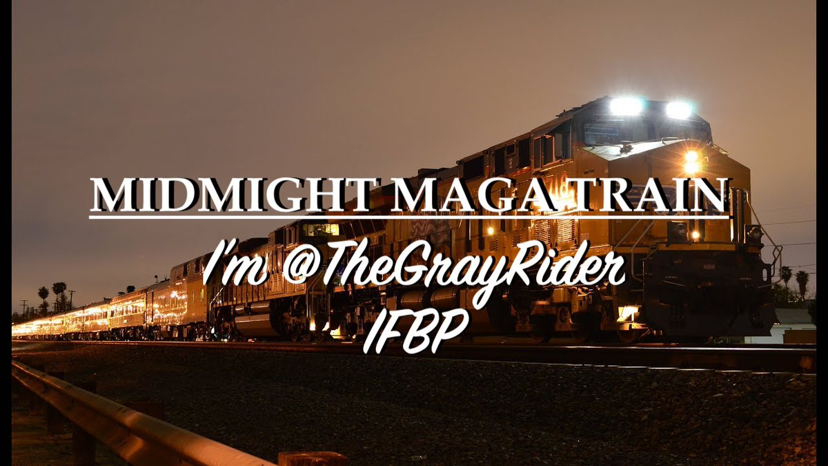 🚂MIDNIGHT🚃MAGARIDE🚃🇺🇸  No ticket required! Jump onboard!   Unite patriots!  Do this.🔽  1⃣Follow Me.  @TheGrayRider IFBP  2⃣Retweet WITHOUT Comment. IMPORTANT!  3⃣Leave a comment with your @ handle.  4⃣Follow All Back. #MAGAROLLERCOASTER  #ENATIONTRAINS  #MAGAQUEENTRAINS https://t.co/dcQs8B1TsQ