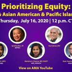 Image for the Tweet beginning: Our upcoming Prioritizing Equity panel