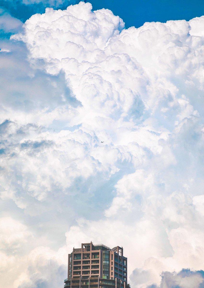 今日見かけた入道雲が凄かった