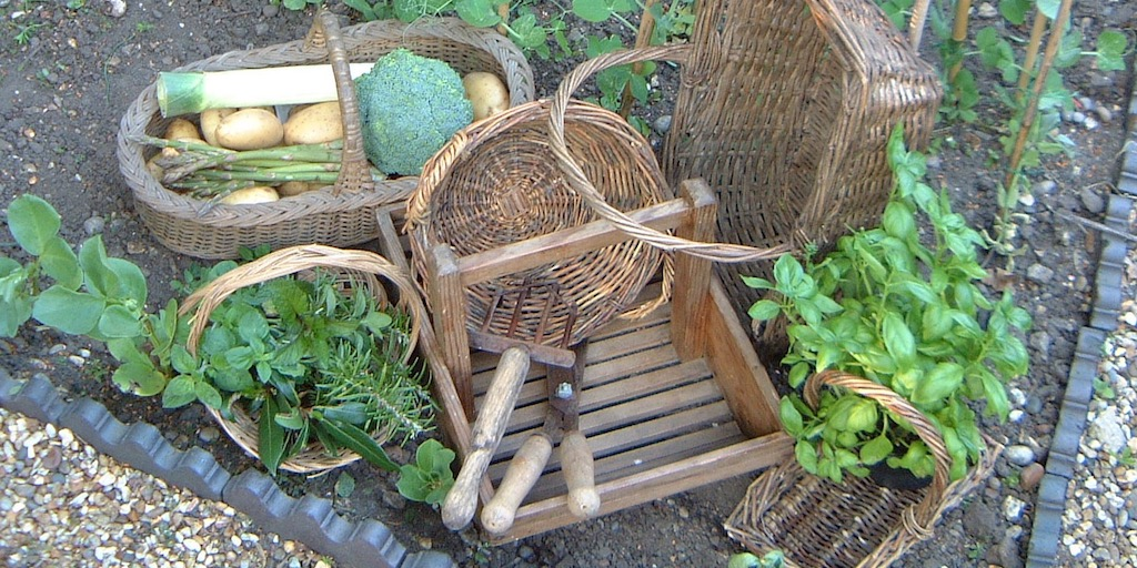 Gather the fruits of your labour from the kitchen garden with one of our #vintage trugs or baskets.  http:// bit.ly/1Upzbmr     <br>http://pic.twitter.com/AnJbqym1G9