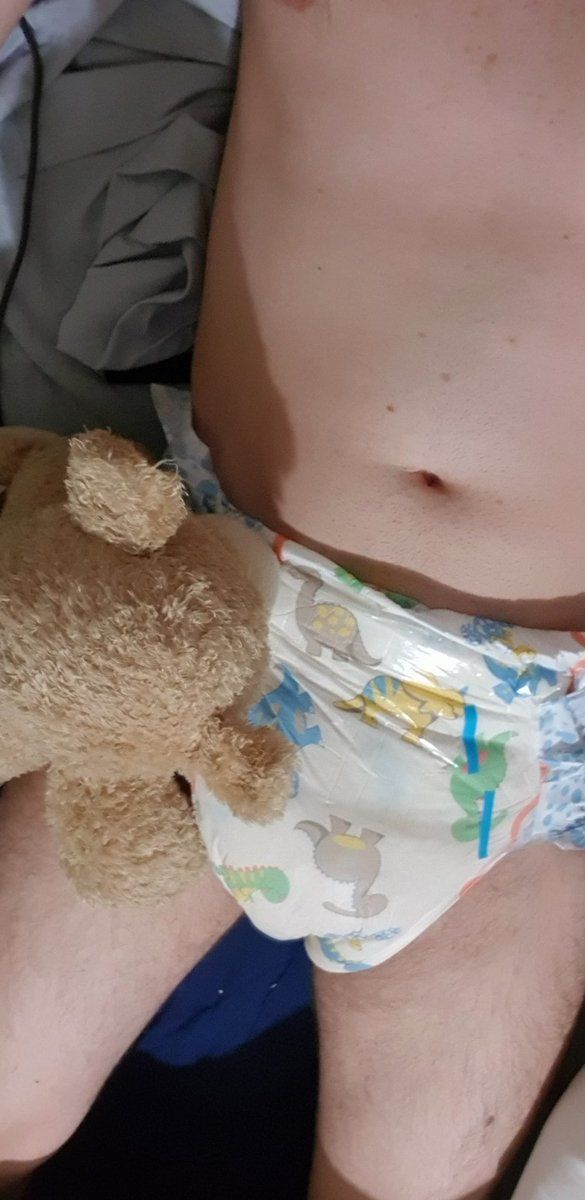 I told @patch_bear that I'm not soggy but he didn't believe me so he had to check #abdlcommunity #abdlgay #abdl #abdlboy https://t.co/rq4whlhcfq