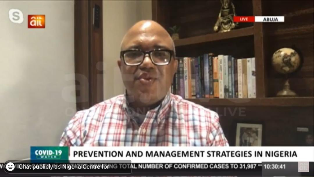"""""""The bad news is the #COVID19 cases are still rising, the good news is that a reduction depends on collective efforts & adherence to recommended measures.   We need more voices other than NCDC to send the right message to #Nigerians""""  ~ @Chikwe_I DG NCDC on @OfficialAITlive https://t.co/qp7mgRv6AO"""