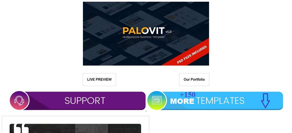 About Palovit Joomla Template  The Palovit Joomla Template contains44 pageswith many modules and features. It is suitable for many corporate websites, not just in the construction industry.  #PalovitJoomlaTemplate  https:// themesgear.com/palovit-joomla -template/  … <br>http://pic.twitter.com/2qDdcs08qX