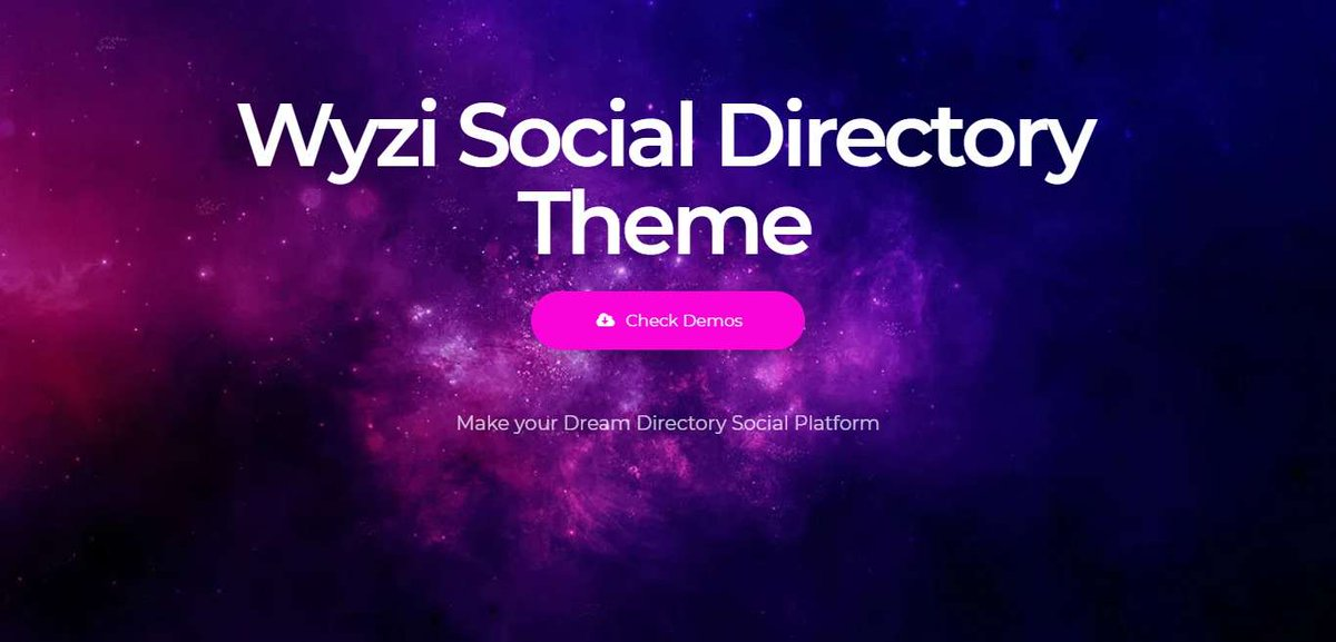 About Wyzi Directory Theme  Wyzi Directory Theme Service Business Finder WordPress Theme is an advanced Social Business & Service Multi-Store Directory Theme, which targets to build a website that overcomes the gap between Businesses and Customers.  #Direc  https:// themesgear.com/wyzi/    <br>http://pic.twitter.com/rZzvxAF4FV