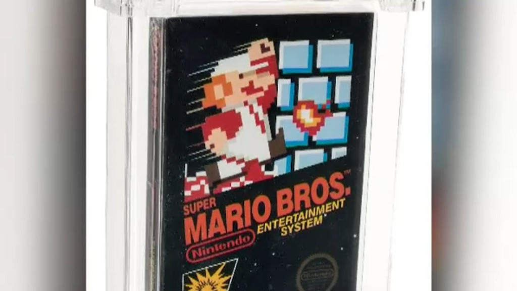 All the coins: Super Mario Bros. game sells for $114,000 https://t.co/2fd4aYfMEn https://t.co/6PCR4wbkmH