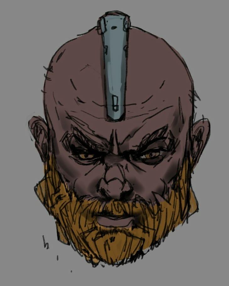 Cyborg. #conceptart #characterdesign #scifi pic.twitter.com/8ymwXuqatq
