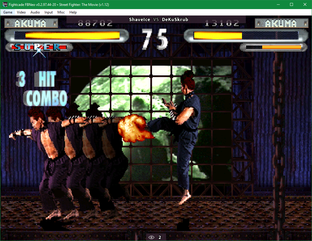 Street Fighter The Movie The Arcade Game The Tech