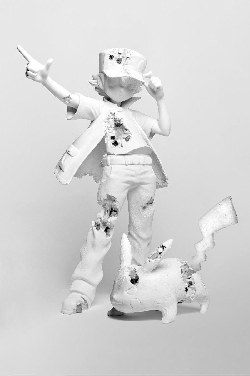 アーティストのダニエル・アーシャムと「ポケモン」による展覧会が渋谷パルコで開催。世界初公開のインスタレーションや、約2mのピカチュウのブロンズ像が登場します。