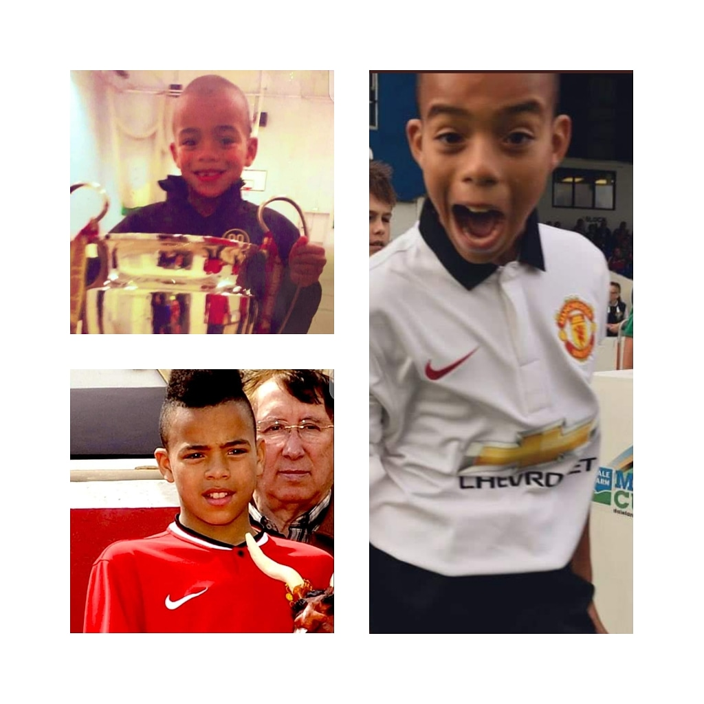 Guess who is the Young star in the photos below? #mufc #ManchesterUnited #oldtrafford #united #ole https://t.co/phU3k4nkay