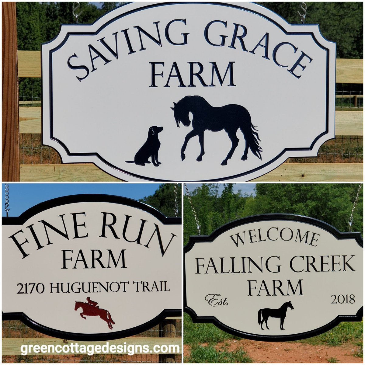 FARM Signs by http://greencottagedesigns.com Custom Outdoor Waterproof PVC Signs for Home & Business #farming #farmlife #HorseFarm #Pets #HorseRacing #customsigns #Virginia #Florida #Texaspic.twitter.com/JU2IuRDL57