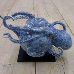 Image for the Tweet beginning: Octopus Teapot by Japanese ceramic