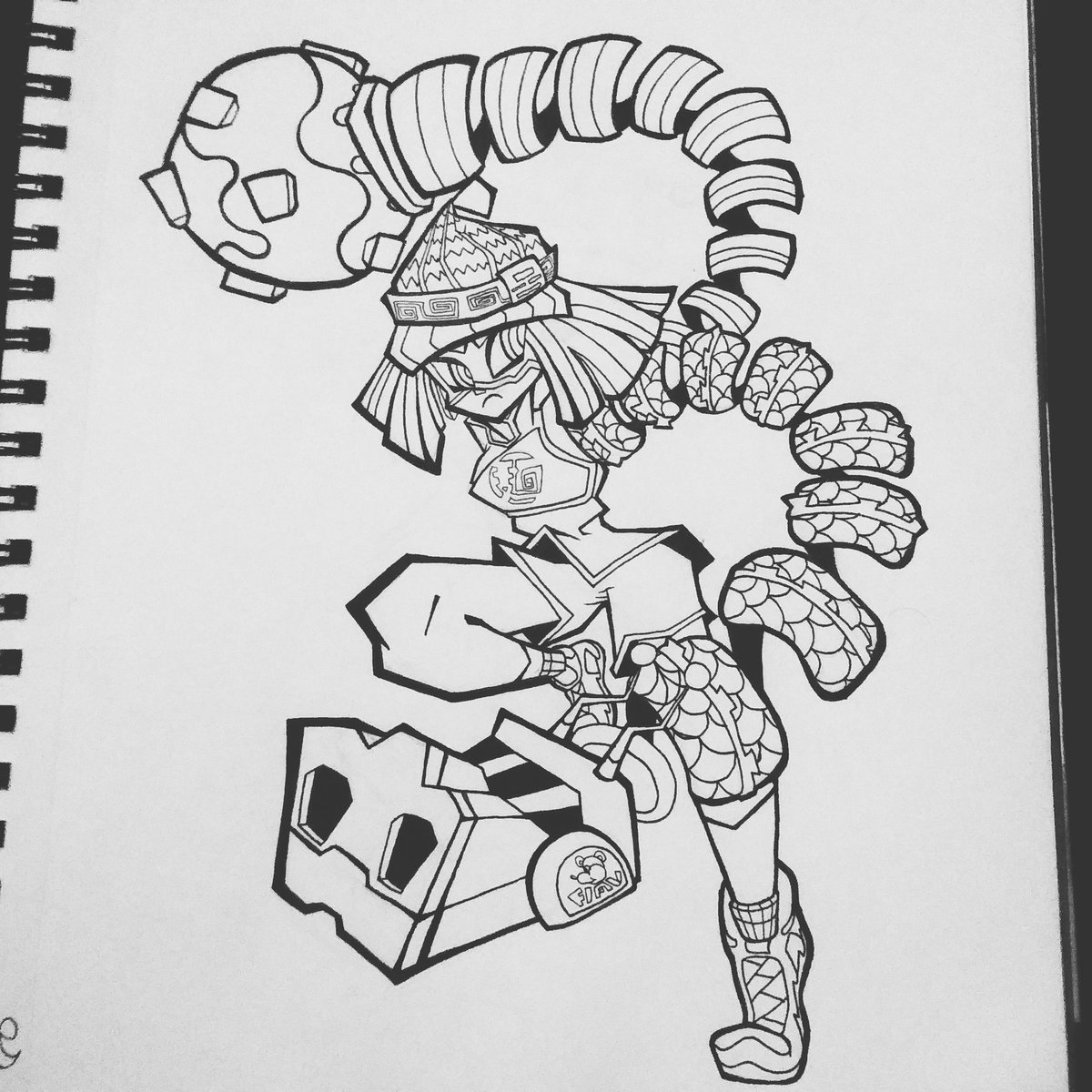 MIN MIN #SmashBrosUltimate #ARMS #art https://t.co/cAwJIKWRtB