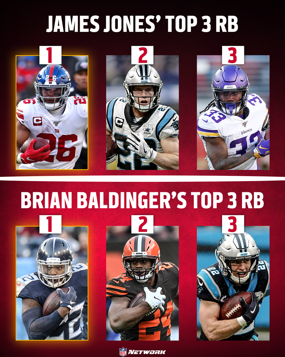 Who's in your top 3? 🤔  @89JonesNTAF | @BaldyNFL https://t.co/AkodjR6OFL