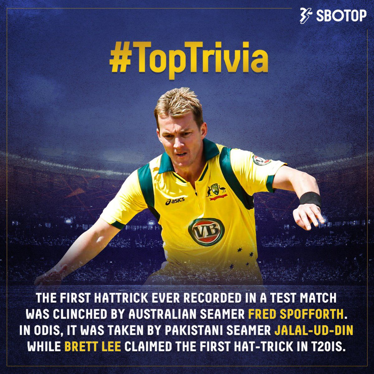 First to milestones are always remembered fondly but how many of you were aware of these mindblowing feats? 🤯  #Cricket #Hattrick #ODI #Test #T20I #BrettLee #FrankSpofforth #JalalUdDinn #CricketAustralia #CricketPakistan #PCB #AustralianCricket #CricketFacts #CricketTrivia