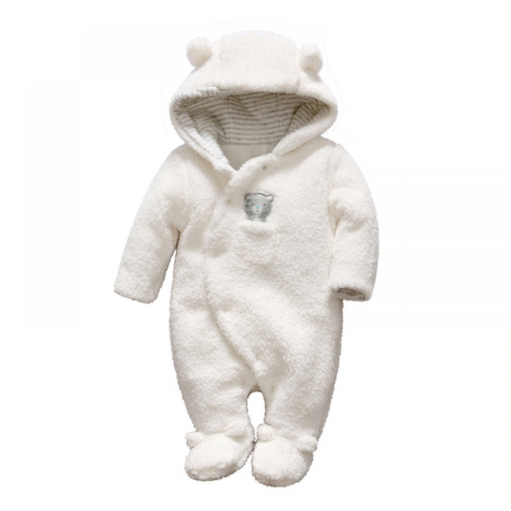 #babyboy #pregnant Baby Bear Fleece Rompers