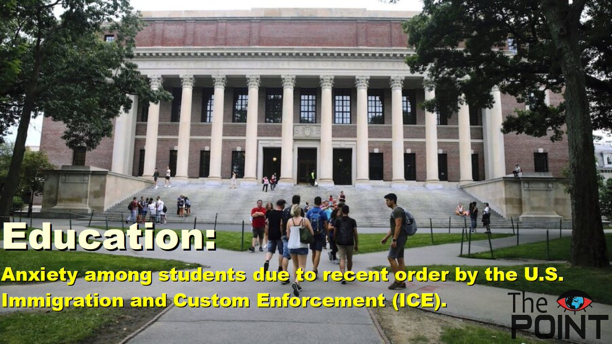 Anxiety among students due to recent order by the U.S. Immigration and Custom Enforcement (ICE). to read more about this click on the given link:- https://www.thehindu.com/news/international/us-bound-students-worried-by-recent-order/article32046311.ece … #education #usa #onlineclasspic.twitter.com/nzA8eJS7AJ