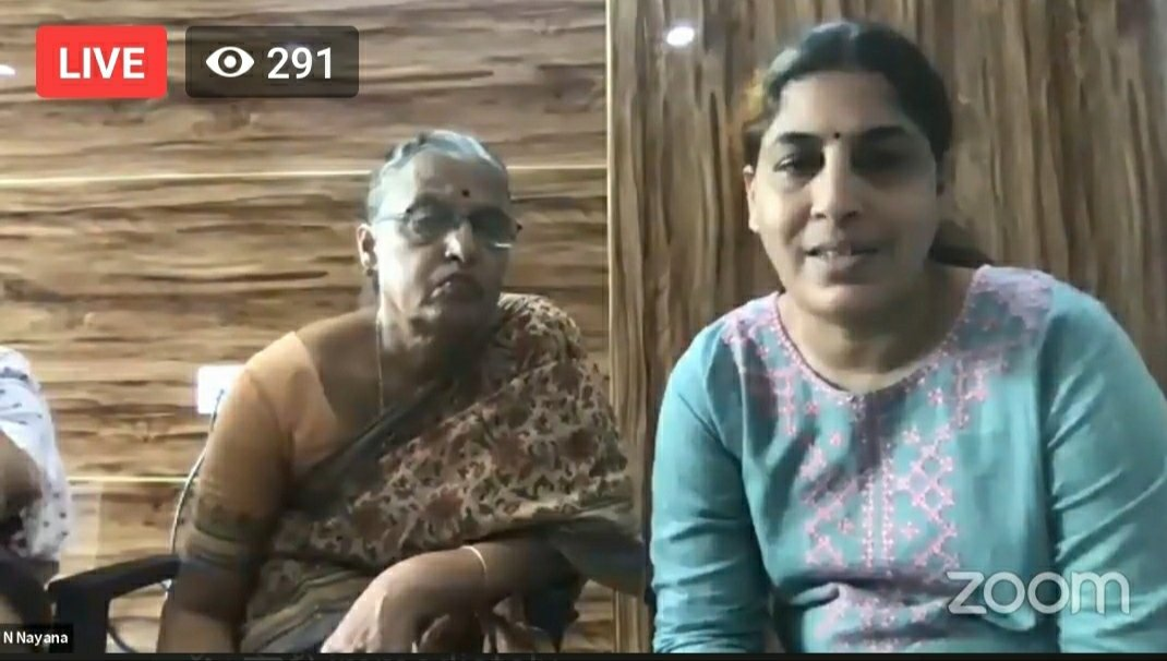 #PressNote from Hemalata, W/o Poet & Activist #VaraVararao and his daughters Sahaja, Anala, Pavana calling upon the Govt. to immediately ensure full #medical & #healthcare to the under trial prisoner who has been jailed since 22 months. They appeal that #RighttoLife is paramount.