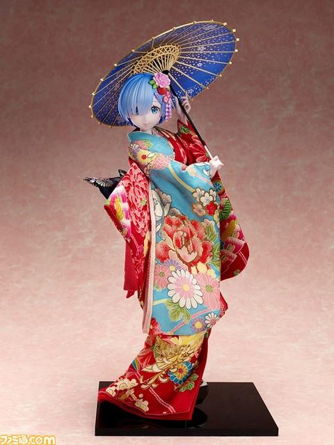 "『Re:ゼロから始める異世界生活 』""レム 日本人形Ver""1/4スケールフィギュアが登場。現代の造形技術と着物の伝統が美しく融合!#リゼロ"