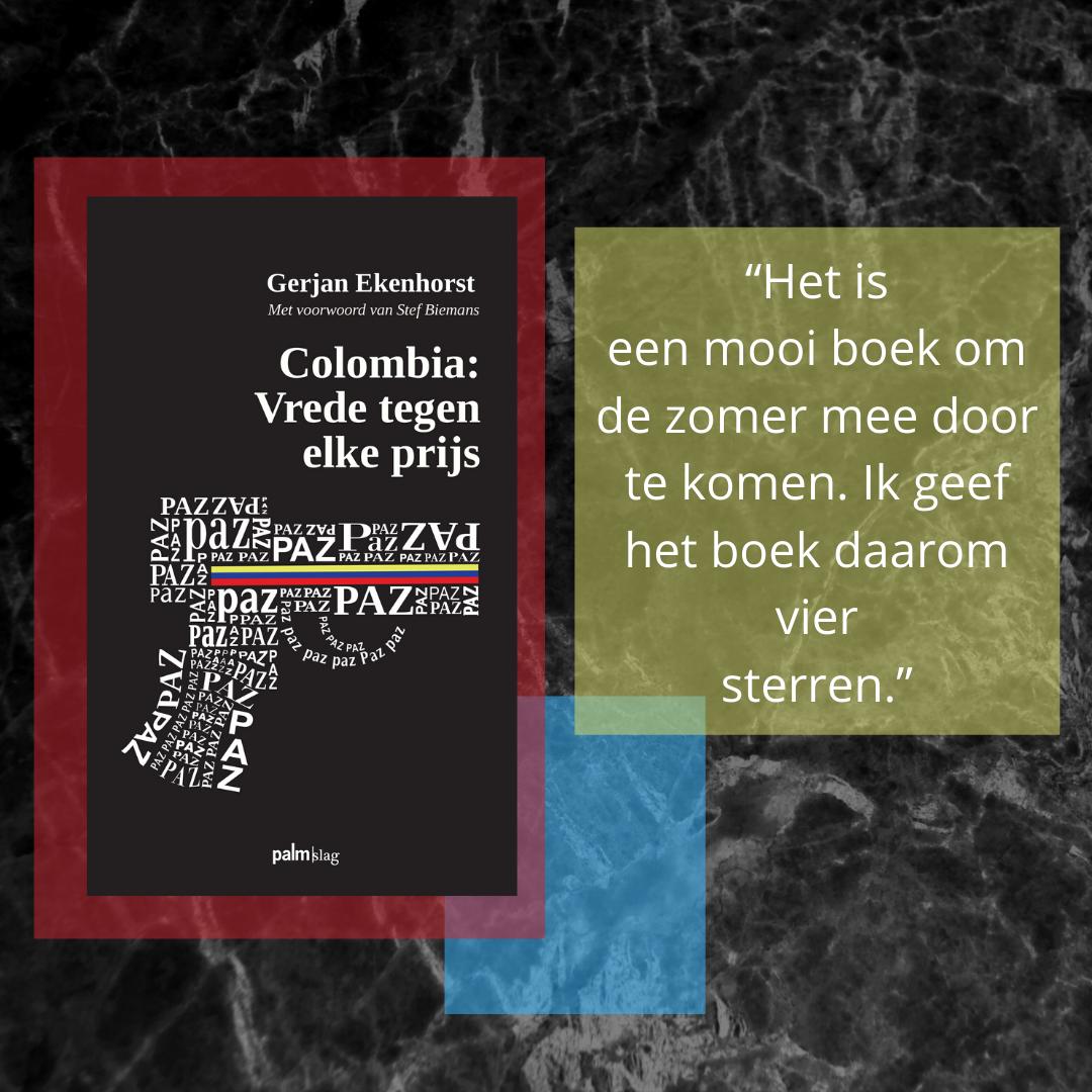 Hoera! Weer een goede recensie voor 'Colombia: Vrede tegen elke prijs' van Gerjan Ekenhorst! ⭐⭐⭐⭐ Lees de hele recensie hier: https://t.co/bAvURjJ4C5 https://t.co/jf0djo3UOv