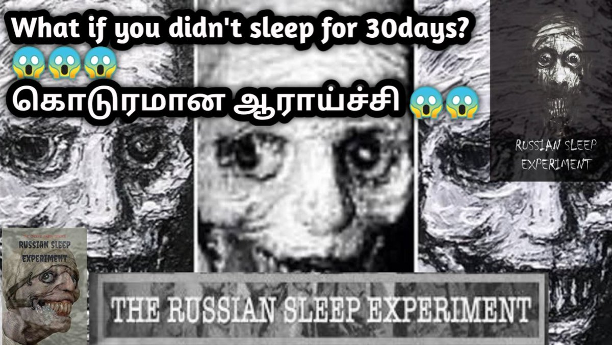 The Russian Sleep experiment(கொடுரமான ஆராய்ச்சி )|தமிழ் https://youtu.be/Gut93VEuge  @DINESHK24743931 @YouTube  #Russian #SleeplessNight  Do watch fully and do subscribe and support by sharing our videos @PTTVOnlineNewspic.twitter.com/qoQy8IzWI3