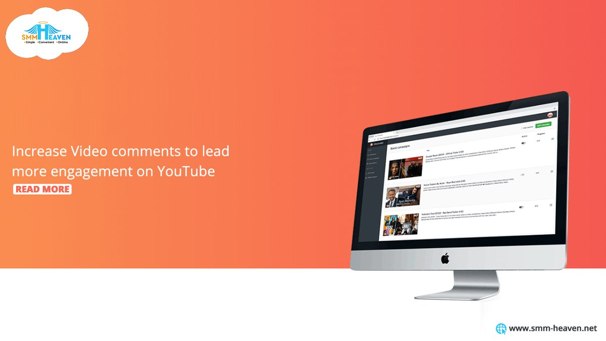 Reach your most valuable audience to promote your brand or business by increasing #YouTube #CustomVideoComments at scale when it matters most.  Learn More@https://t.co/EDna0Kmy0m  #YoutubeVideoComments #YoutubeBusiness #SocialMediaMarketing #SMMPanel #SMMHeaven #USA https://t.co/Oij3uRRayM