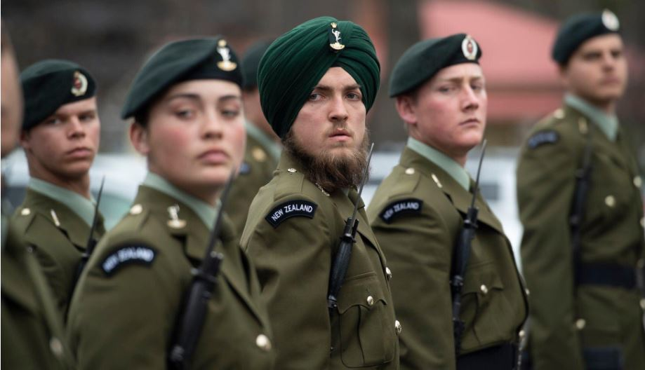 A 23-year-old #white man in #NewZealand was attracted to #Sikhism and joined the practice. Now, he is with the army in the country. Salutepic.twitter.com/a4mxyVkG78