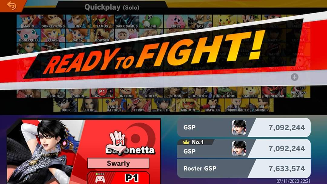 Started quite literally from the bottom. (150k) now we here. 😤 #SmashBrosUltimate https://t.co/hn7mub1Atp