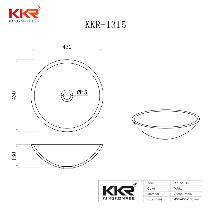 KingKonree: For everyone who wants high quality 430mm Diameter Solid Surface Round Above Counter Washing Basin KKR-1315.  https://www. kingkonree.com/430mm-diameter -solid-surface-round-above-counter-washing-basin-kkr-1315  …  #abovecountervesselsink #vanitywashbasin<br>http://pic.twitter.com/4y4ov2F5Zn