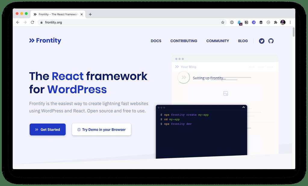 Frontity is React for WordPress  https:// ift.tt/320JBmL     #webdevelopers <br>http://pic.twitter.com/YWykUaeQ1s