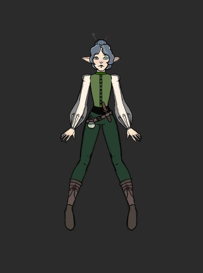 и так новый персонаж, и имя этому созданию Хасалин. Он наследственный травник и живет со своими сородичами на болоте. Эльфийской рассы.  С ним в будущем будет маленькая история. #art #draw #drawing #elf #artist #арт
