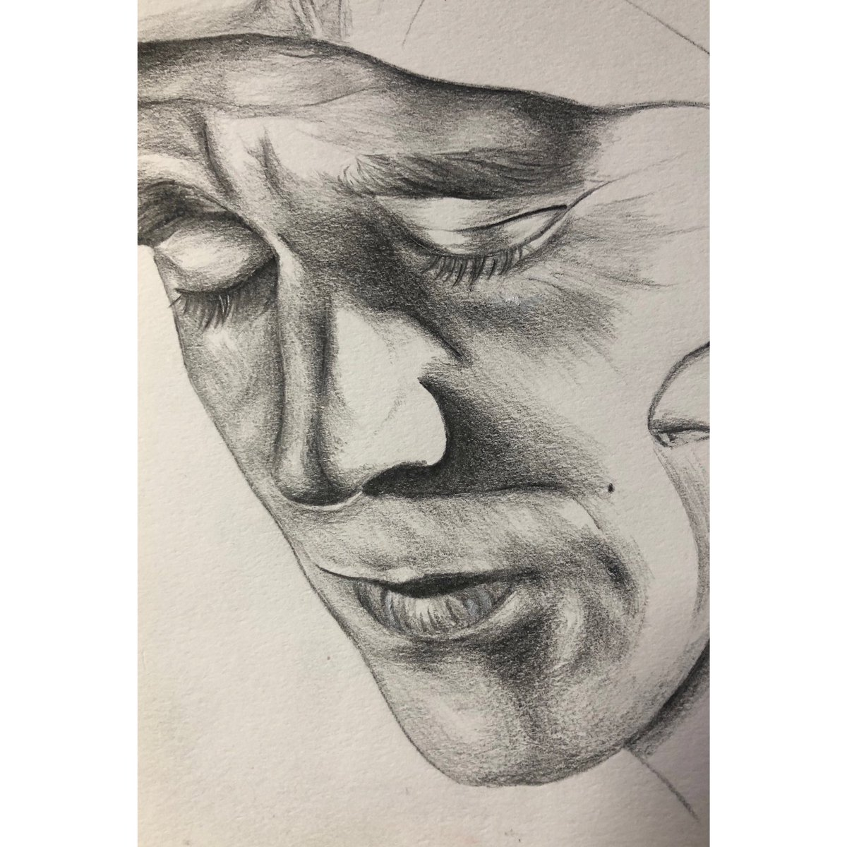 A current WIP (work in progress) #art #drawing #tomhiddleston