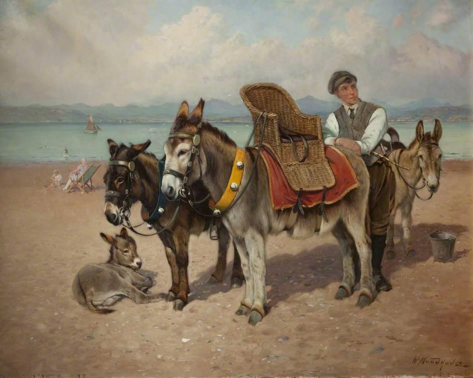 @YorkshireMuseum #CURATORBATTLE Donkey Boy by our local artist William Woodhouse shows us the beauty of #MorecambeBay and is the pace of travel we like to emulate!pic.twitter.com/mAcaqKvuZB