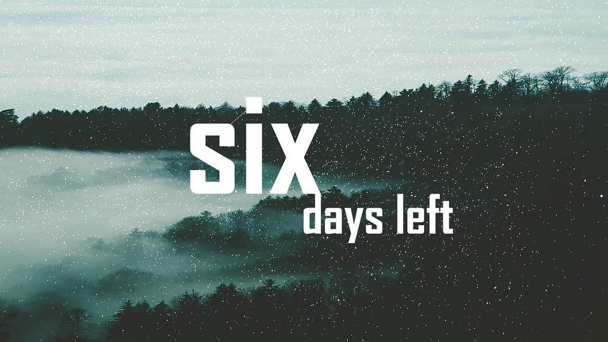 six days left until the next...👽 #edm #music #dj #housemusic #rave #dance #dubstep #techno #party #house #hiphop #edmlifestyle #electronicmusic #trap #producer #festival #edmfamily #plur #djlife #edmlife #trance #tomorrowland #love #dancemusic #deephouse #nightlife #edc https://t.co/mJwj3TvCX3