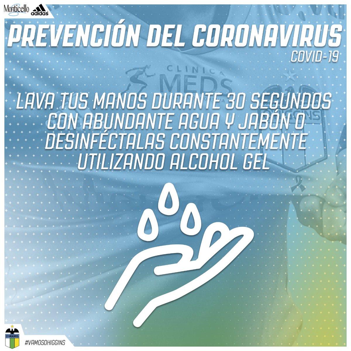👉🏻 Sigue las siguientes recomendaciones para evitar contagiarse de Covid-19 🦠 🧼 Lava tus manos con abundante agua y jabón 🙅🏻♂️ Evita tocarte la cara con tus manos 🚗 Evita desplazamientos innecesarios y aglomeraciones de personas ¡Del coronavirus nos protegemos todos! 💪🏻