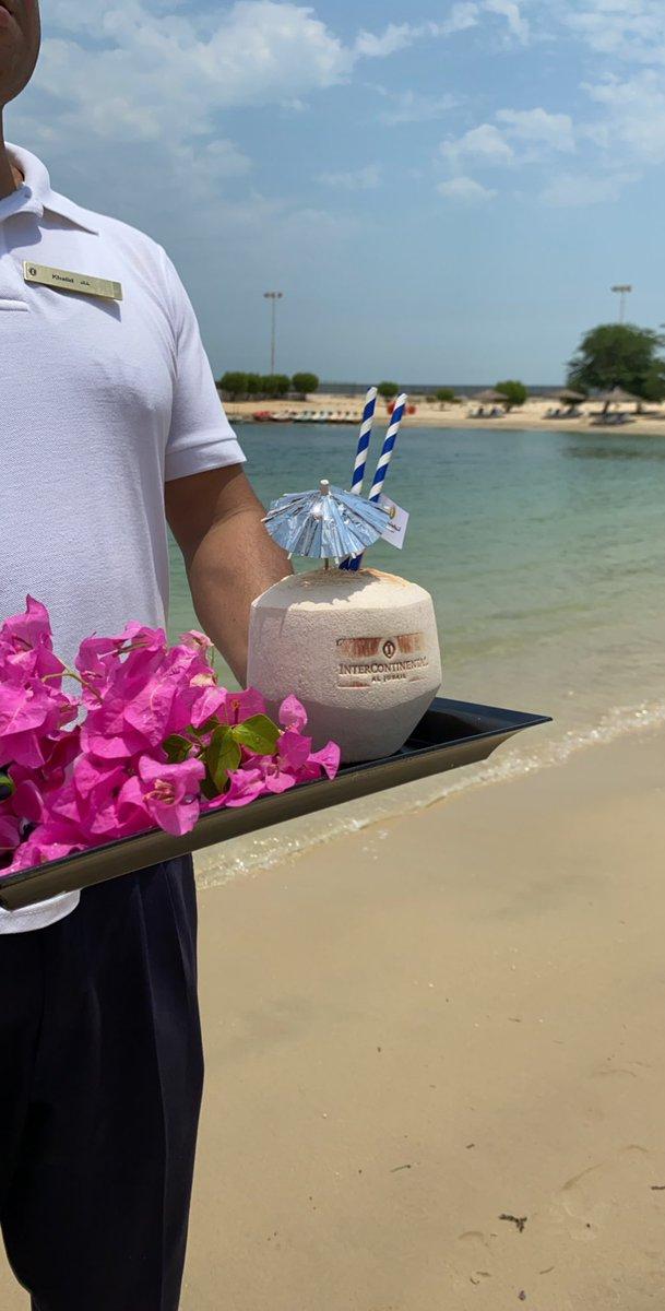 #SummerVibes pic.twitter.com/F4BpT0nV3k – at Intercontinental private beach