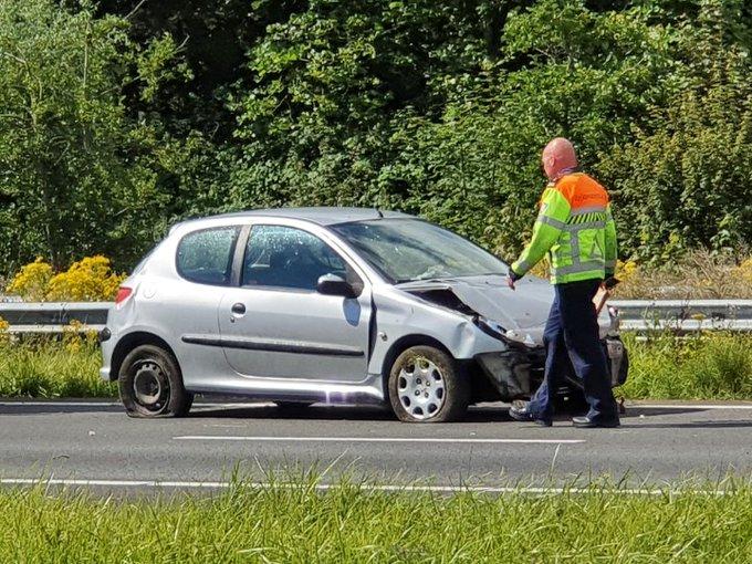 #A20 Maasland Eenzijdig ongeval auto richting westland. https://t.co/qFtyjF3Jp9