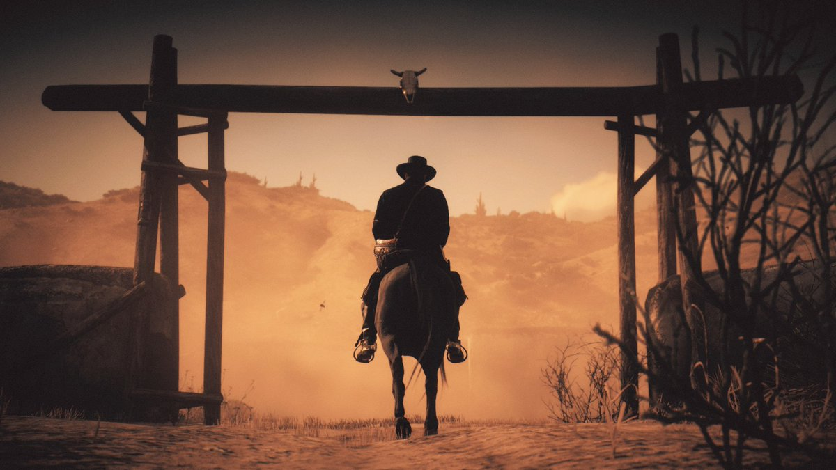 The Outlaw of the West  #RedDeadRedemption2 #RDR2 #XboxShare #VirtualPhotographer #VirtualPhotography @RockstarGames https://t.co/mhfoB1a9sz