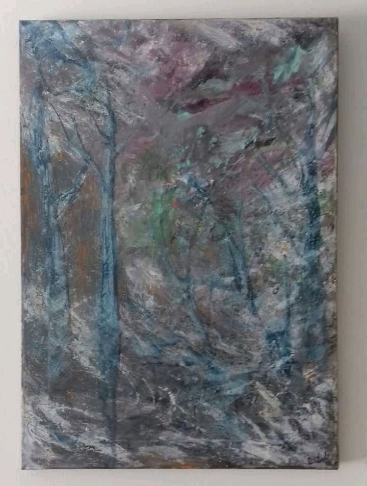 The Pathway - Mixed Media on Box Canvas #art #artwork #artist #painting #abstractart #Abstract #trees #life #artgallery #landscape #darrenpaulclarke #uk #artistsontwitter #twitart #oilpainting #mixedmedia #forests #stives #londonpic.twitter.com/wXC2nlAch4