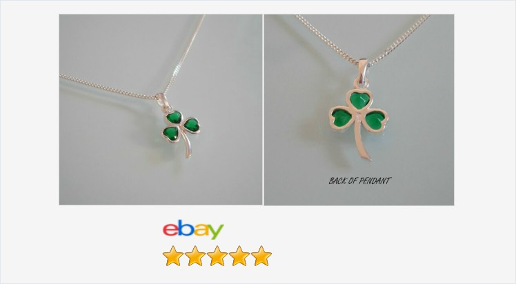 New 925 Sterling Silver & Green Cubic Zirconia Shamrock Pendant Necklace | eBay #sterlingsilver #green #cubiczirconia #shamrock #pendant #necklace #gifts #giftideas #giftsforher #irishjewelry #jewellery #finejewelry #UKHashTags #jewelry #jewelrylover https://www.ebay.co.uk/itm/313065672556…pic.twitter.com/4r3L8ad8sR