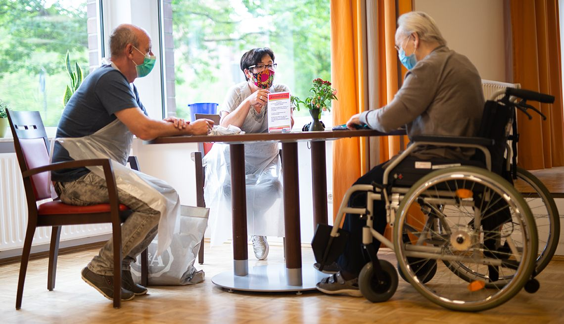 When Can Visitors Return to Nursing Homes? https://t.co/7A292j5wkC by @AARP   #COVID19 #coronavirus #Alzheimers #dementia @Politics_PR @ChrisRCason @SocialPowerOne1 @iquitsmokingcig @LunaLuvgood2020 @LibsInAmerica @BethFratesMD @DrLindaMD @AmyJRomine @DBlack_Mountain @HughAcheson https://t.co/I6Pbtzx83J