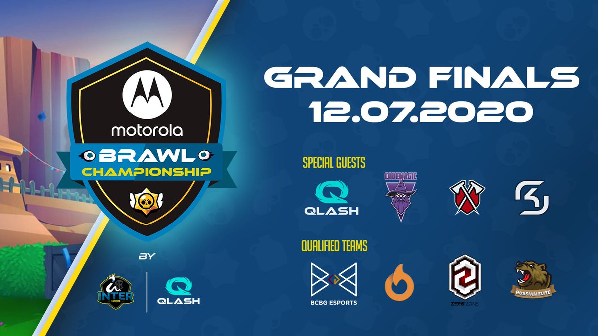 ✅ | FINAL  ¡La final del @Moto Brawl Championship empieza a las 17:00 CEST!  Míralo en vivo con el @TeamQLASH 👉 https://t.co/k8LQT2aK4X  #InterESports #MotorolaEdgePlus #AbsoluteEverything https://t.co/ubqZvrXSGH