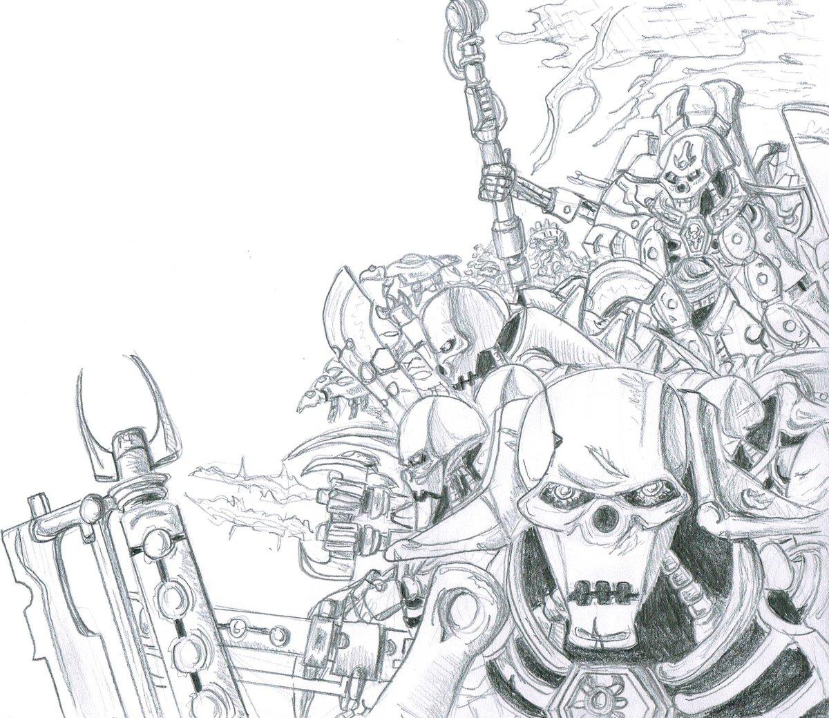 The Inevitable Indomitus   #40k #warhammer #wh40k #necron #xenos #indomitus https://t.co/zGWEWhyVZC
