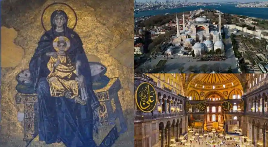 Turkey's decision to turn UNESCO-listed Hagia Sophia into a mosque violates the World Heritage Convention.   But key UN bodies will do 0.   Turkey is President of UNESCO General Conference  Turkey is next President of UN General Assembly  Turkey is on UN NGO Committee <br>http://pic.twitter.com/DFX6NMXgVF