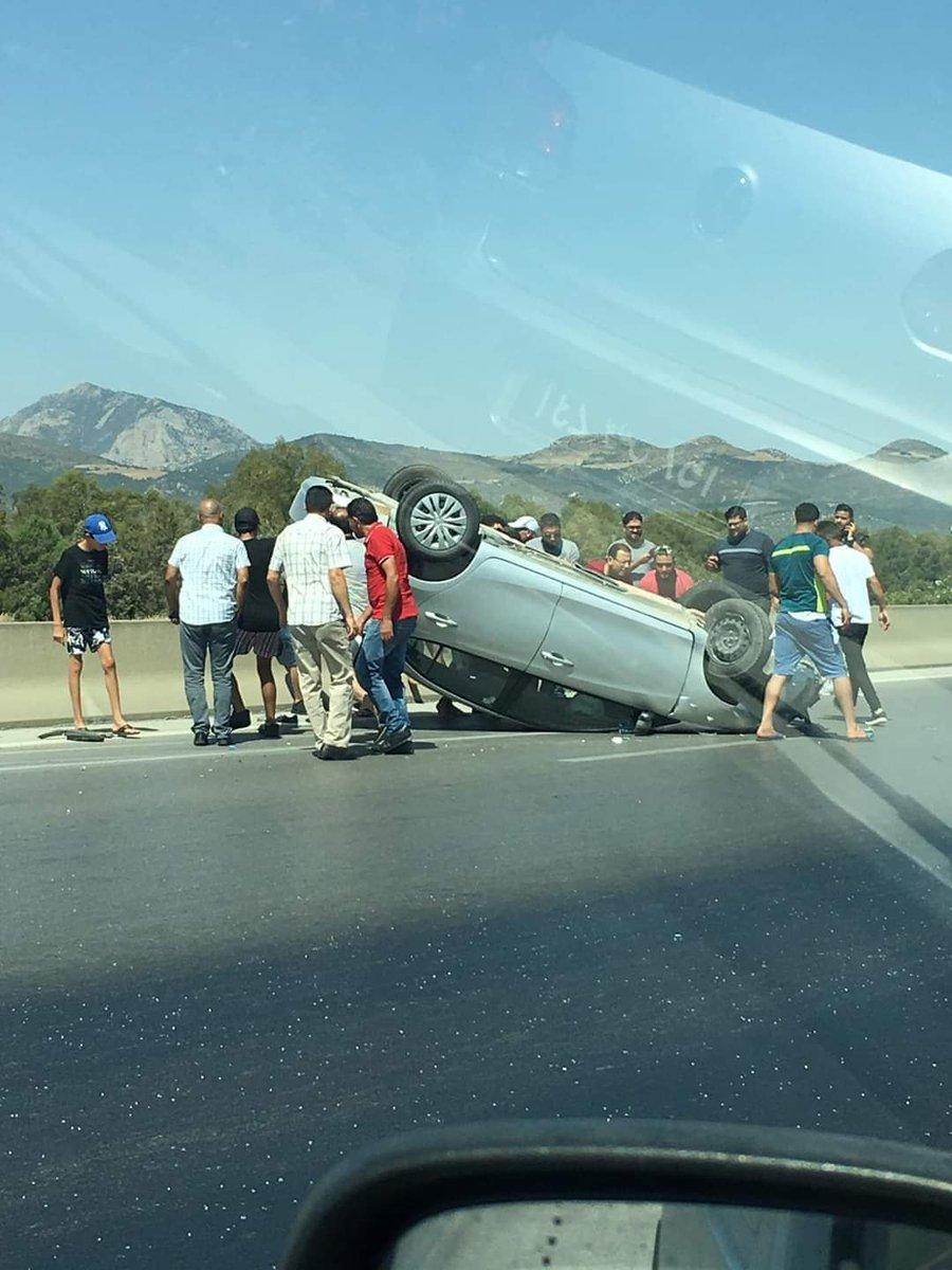 Autoroute Hammamet Tunis, faites attention il y en a de l'huile de moteur qui s'est renversé sur la route!  Via FB https://t.co/GDzSpu1VHY