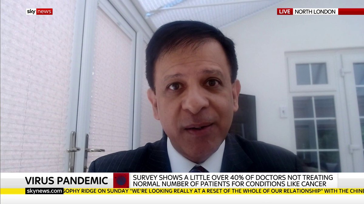 More than a million planned operations and treatments have been cancelled or delayed because of the #COVID19 pandemic. Dr Chaang Nagpaul is calling for openness and transparency around how the NHS will prioritise and ensure patients are seen. Latest: trib.al/V6S3ZvA