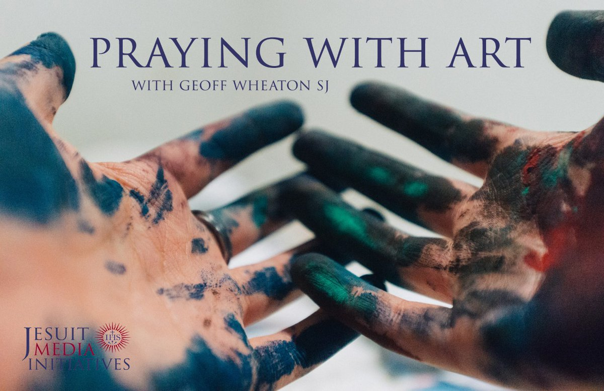 Have you discovered #PrayingwithArt yet?  An #Ignatian way to enter into prayer through famous artwork