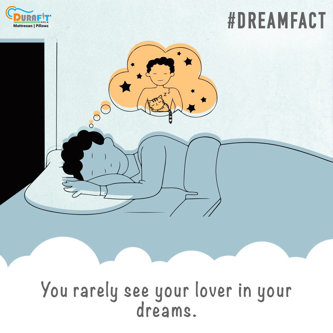 Have you given a thought? . . . . . #dreamfact #durafitmattress #durafitindia #durafit #dreamsetup #loverdreampic.twitter.com/BwInfs559h